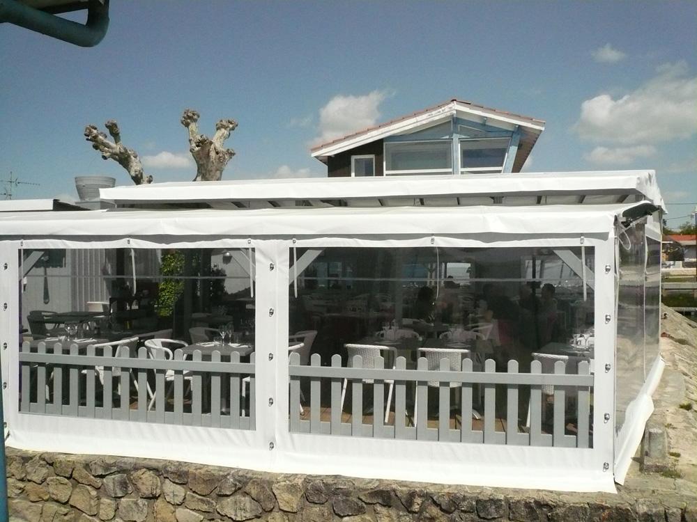 Toiles confectionnées sur-mesure périphéries acrylique fenêtres cristal