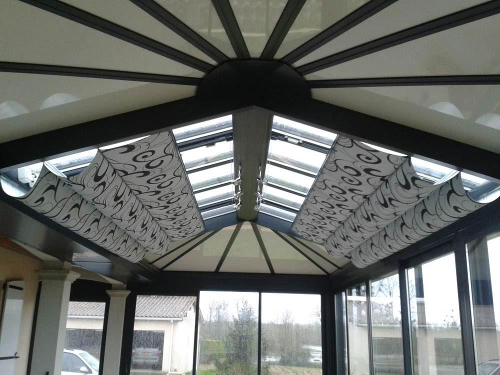 Pose Store intérieur de toiture REFLEX'SOL